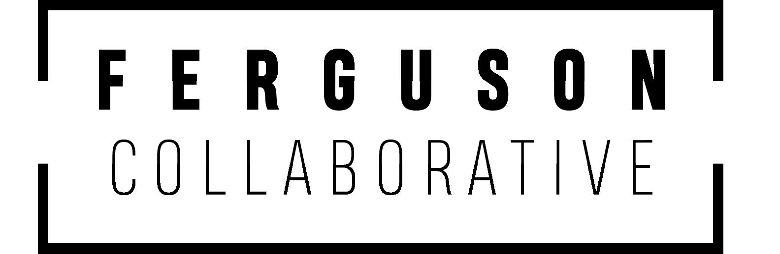 Ferguson Collab Logo (Black)